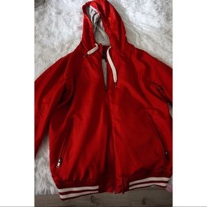 Other - Red varsity jacket